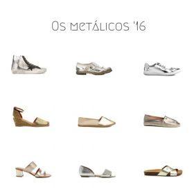 Sapato metálico: pra usar já!