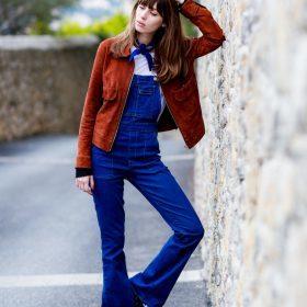 Como levar macacão jeans