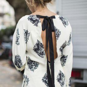 Blusa com laço
