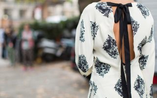 A moda do laço
