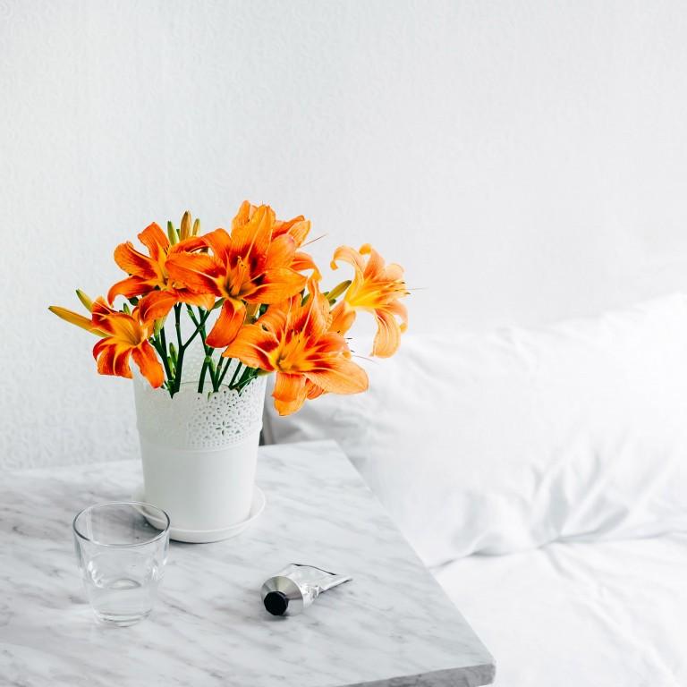 As cores da estação: laranja ferrugem