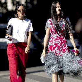 O vermelho é a cor da moda em 2017