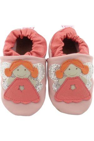 Catz Pantufa Couro Nicky Anjo /Coral