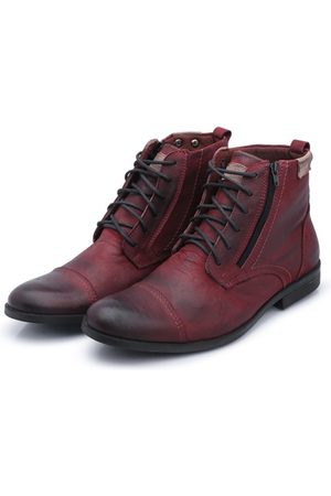Bergally Bota Casual Detroid Bordo