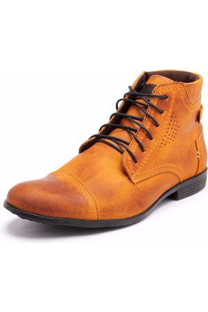 Bergally Bota Casual Detroid Amarela