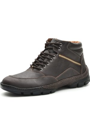 Over Boots Bota Cano Curto Casual Absolut Couro