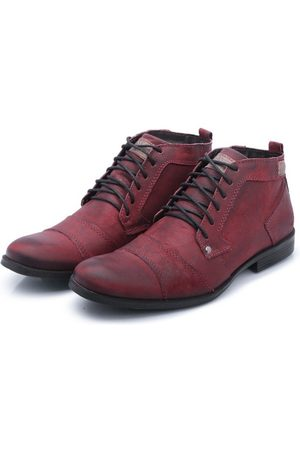 Bergally Sapato Casual Detroid Bordo