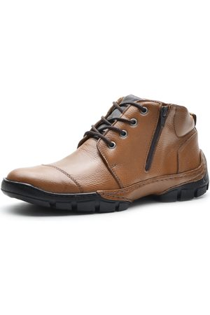 Over Boots Bota Cano Curto Detroit Couro Whisky