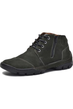 Over Boots Bota cano curto Couro Militar