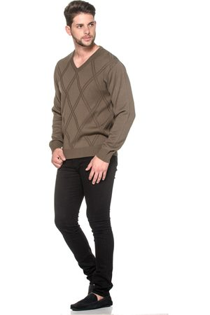 Passion Tricot Suéter LK Brown