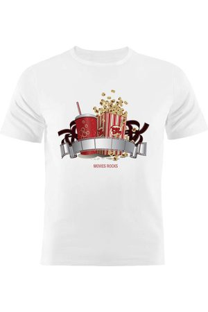 Nerderia Camiseta Manga Curta Movie Rocks