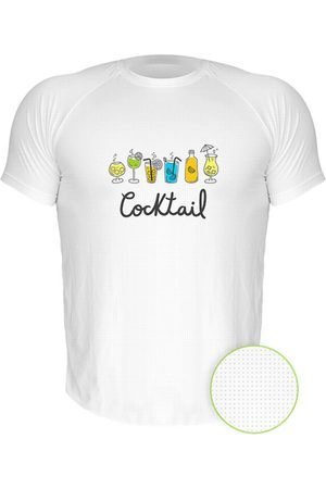 Nerderia Camiseta Manga Curta Cocktail