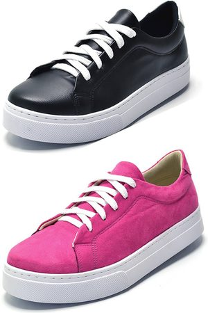 afc91f2f77a8ee Tênis Casual Kit 2 Pares Pink/