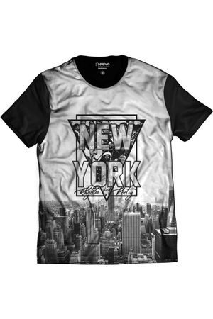 Camiseta New York Rap Hip Hop NY Exclusiva Preta 4899ff37fba