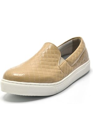 Gasparini Slip On Metalassê Caramelo