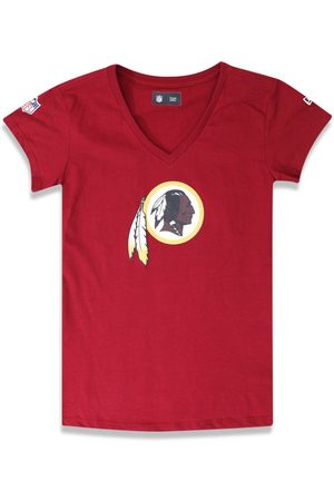 New Era T-shirt Baby Look Washington Redskins Escuro