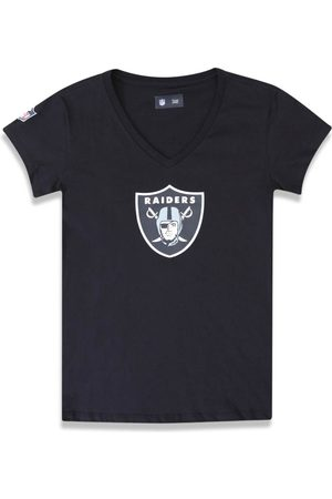 New Era T-shirt Baby Look Oakland Raiders