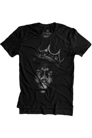 Stoned Camiseta Longline Gold Notorious B.I.G.