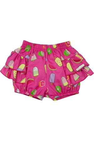 Ano Zero Shorts Bebê Dylan Estampa Digital Pink