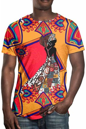 Over Fame Camiseta Estampada Africana
