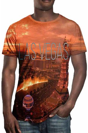 Over Fame Camiseta Estampada Las Vegas