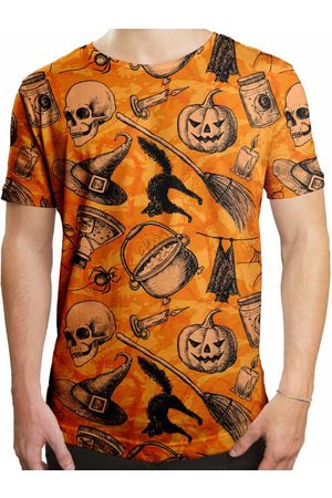 Over Fame Camiseta Longline Halloween