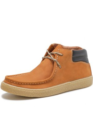 Over Boots Bota Casual Canadian Couro Nobuck