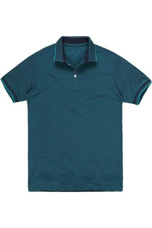 Khelf Homem Camisa Formal - Polo Piquet Petroleo
