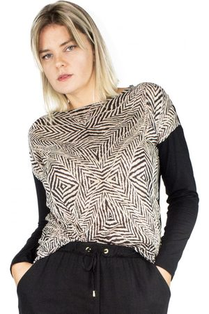 Modisch Blusa Zebra Animal Print