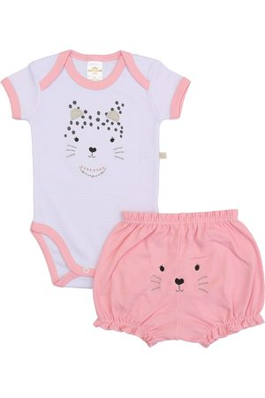 Best Club Baby Conjunto Body MC Bordado 2331.0014_V1 /Rosa