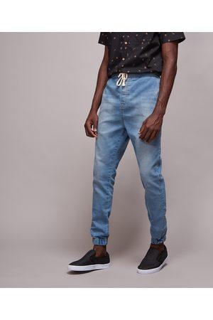 Clockhouse Calça Jeans Masculina Jogger Skinny Claro
