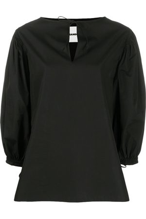 Jil Sander Puffed sleeves blouse