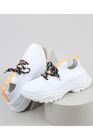 Oneself Homem Sapatos Esporte - Tênis Masculino Knit Esportivo Chunky Neoprene
