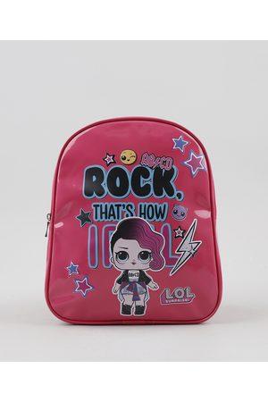 LOL Surprise Menina Mochila - Mochila Infantil Pink
