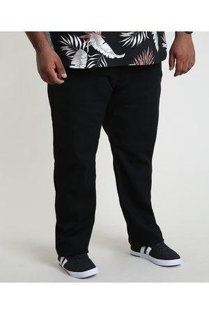 Clockhouse Homem Calça Jeans Reta - Calça Jeans Masculina Reta com Bolsos Preta