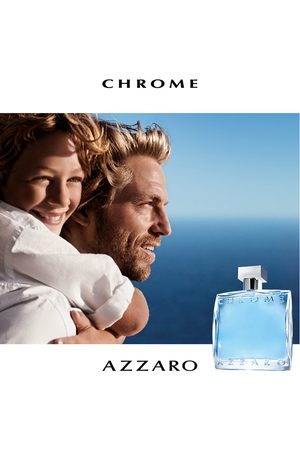 Azzaro Homem Perfumes - Perfume chrome masculino eau de toilette 100ml