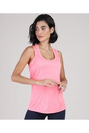 ACE Mulher Camiseta - Regata Feminina Esportiva Decote Nadador