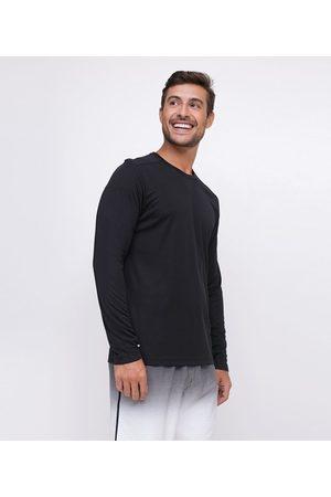 Get Over Camiseta Esportiva Manga Longa | | | M
