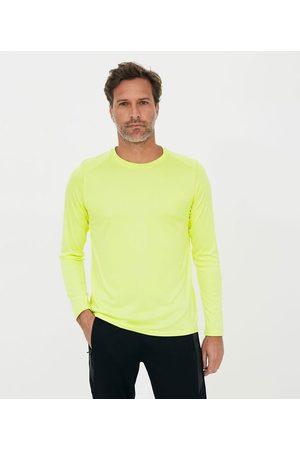 Get Over Homem Camisolas de Manga Curta - Camiseta Lisa com Proteção UV | | | G