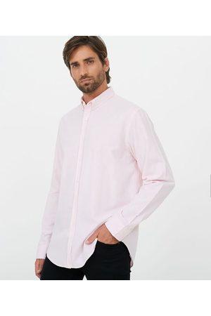 Preston Field Camisa Oxford Lisa em Algodão | | | 02