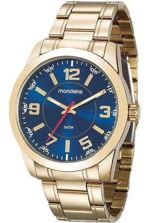 Mondaine Kit Relógio Masculino 99141GPMVDE4KA Analógico 5ATM + Carteira | | | U