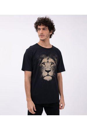 Ripping Camiseta com Estampa Leão | | | G