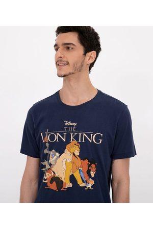 Disney Camiseta Manga Curta Estampa Rei Leão       GG