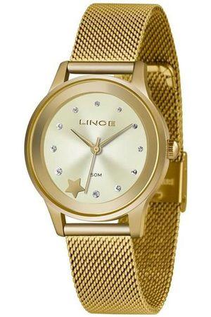 Lince Kit Relógio Feminino LRGH122L-KW99C1KX Analógico 5ATM + Pulseira | | U
