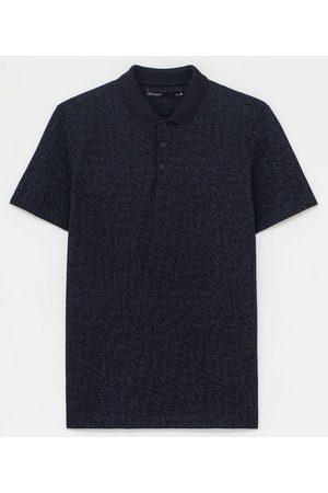 Request Camisa Polo em Algodão Peruano Estampa Dashes | | | M