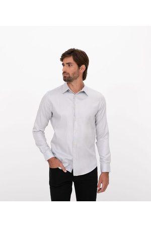 Preston Field Camisa Classic Slim Fit Manga Longa Maquinetada | | claro | 06