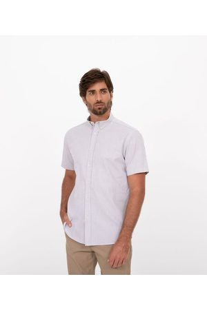 Preston Field Camisa Manga Curta Comfort em Oxford | | | 05