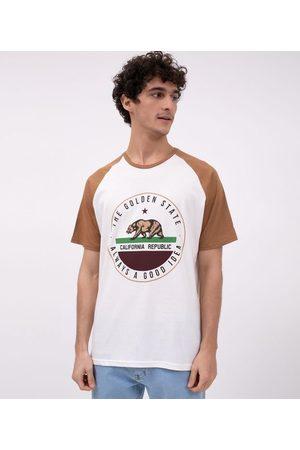 Ripping Camiseta Manga Curta Estampa Urso California | | | G