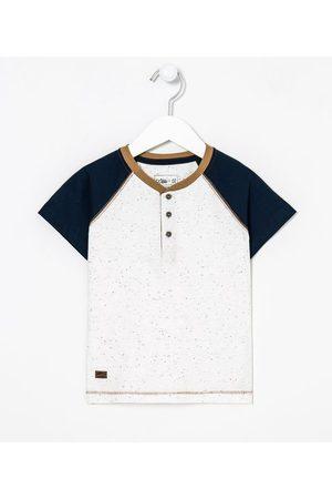 Póim (1 a 5 anos) Camiseta Infantil Henley - Tam 1 a 4 anos       03