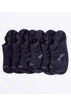 Puma Kit com 3 Meias Masculinas Invisíveis | | | U